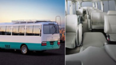 Toyota coaster Air Conditioned